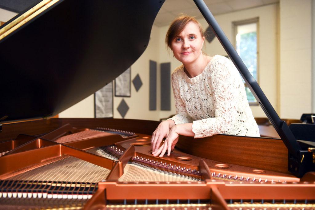 Pianist Olga Kleiankina