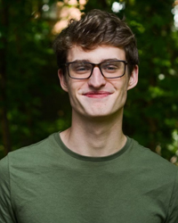 headshot photo of NC State student Connor Gary